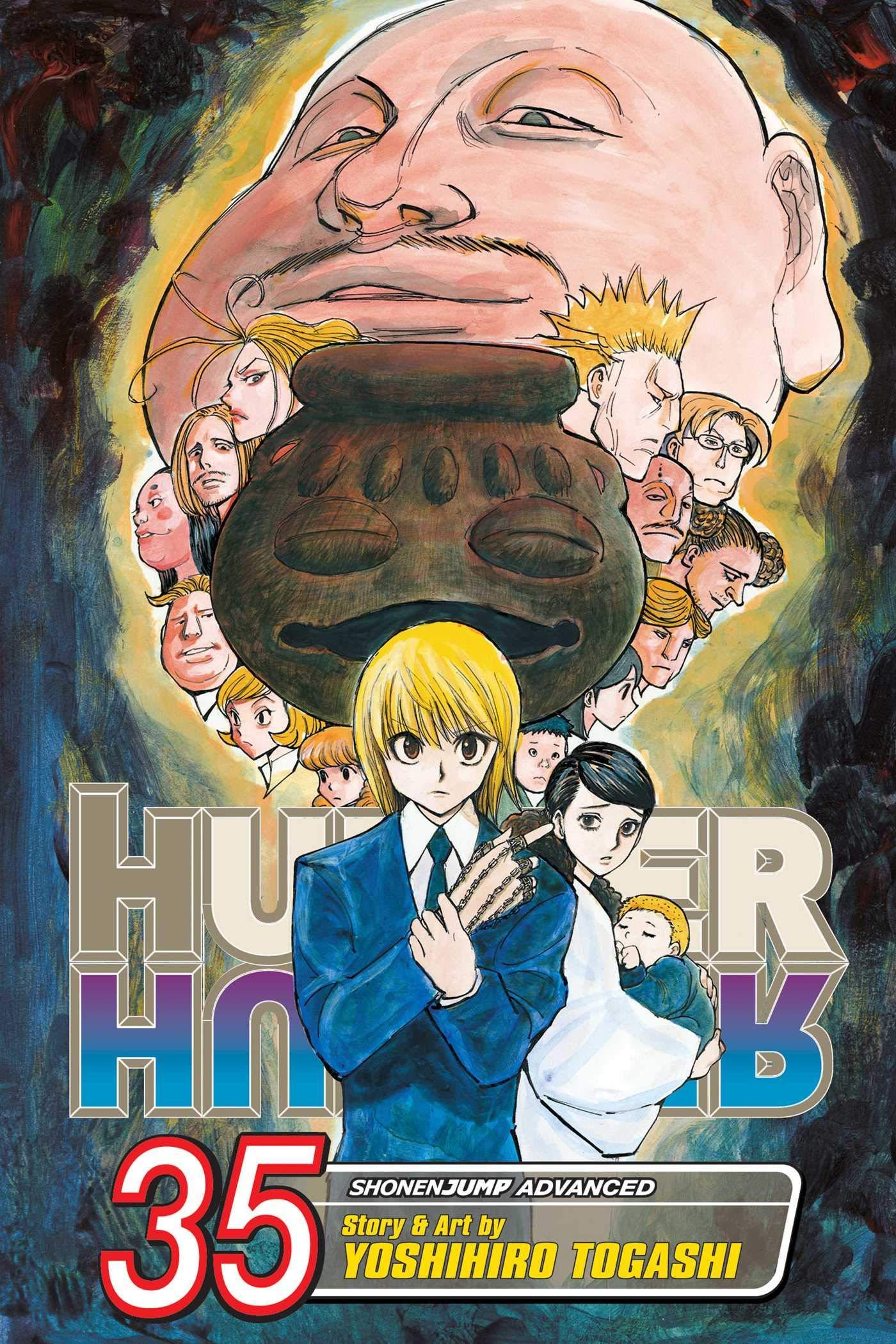 Hunter X Hunter Vol 35 35 Togashi Yoshihiro 9781974703067 Amazon Com Books