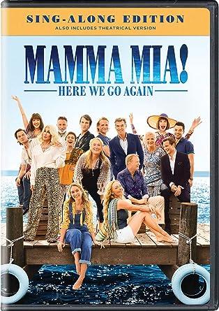 Amazoncom Mamma Mia Here We Go Again Christine Baranski Pierce