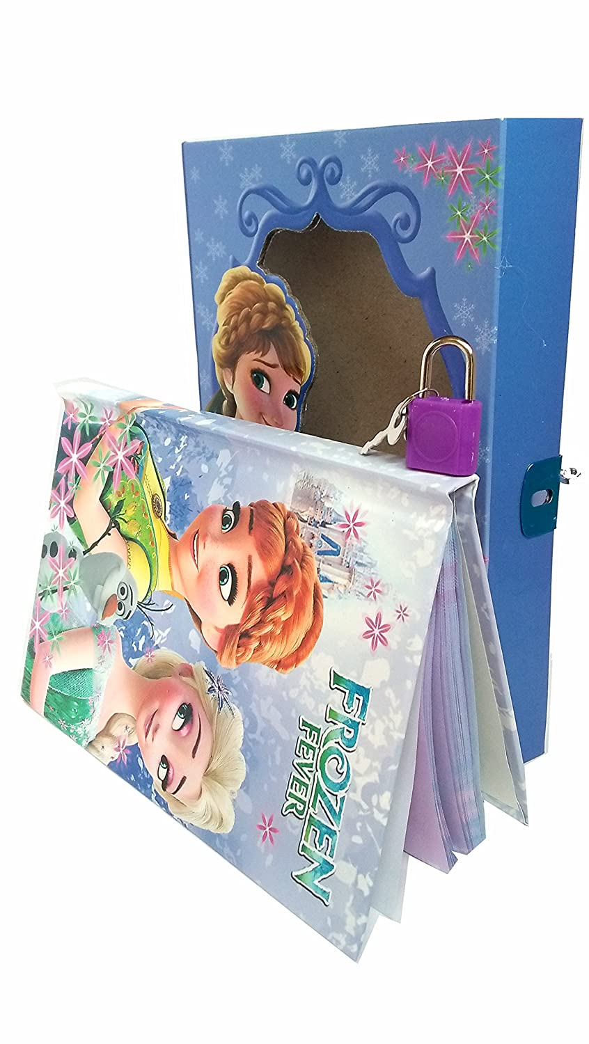 Buy SHREE TECHNESH Frozen Theme Jumbo Plastic Pencil Box with Personal Lock Dairy and Stationery Combo Set (Multicolour) Online at Low Prices in India ...