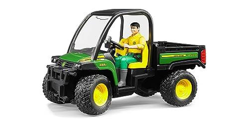 John Deere Gator Prices >> Buy Bruder Toys Plastic John Deere Gator Xuv 855d With Driver Online