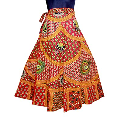 2acff6f5 Eagle Eye Outfitters Printed Women's Wrap Around Multicolor Skirt