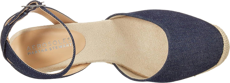 Aerosoles Sandales compensées pour femme Tissu Denim