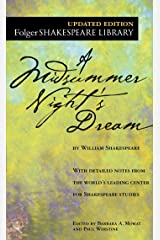 A Midsummer Night's Dream (Folger Shakespeare Library) Mass Market Paperback