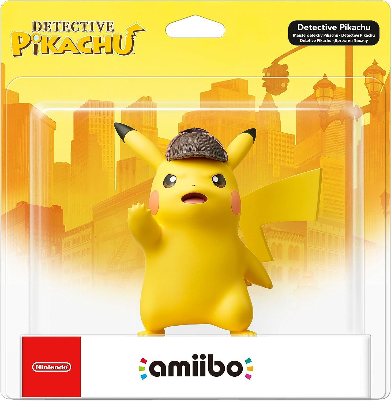 Nintendo - Figura Amiibo Detective Pikachu: Amazon.es: Videojuegos