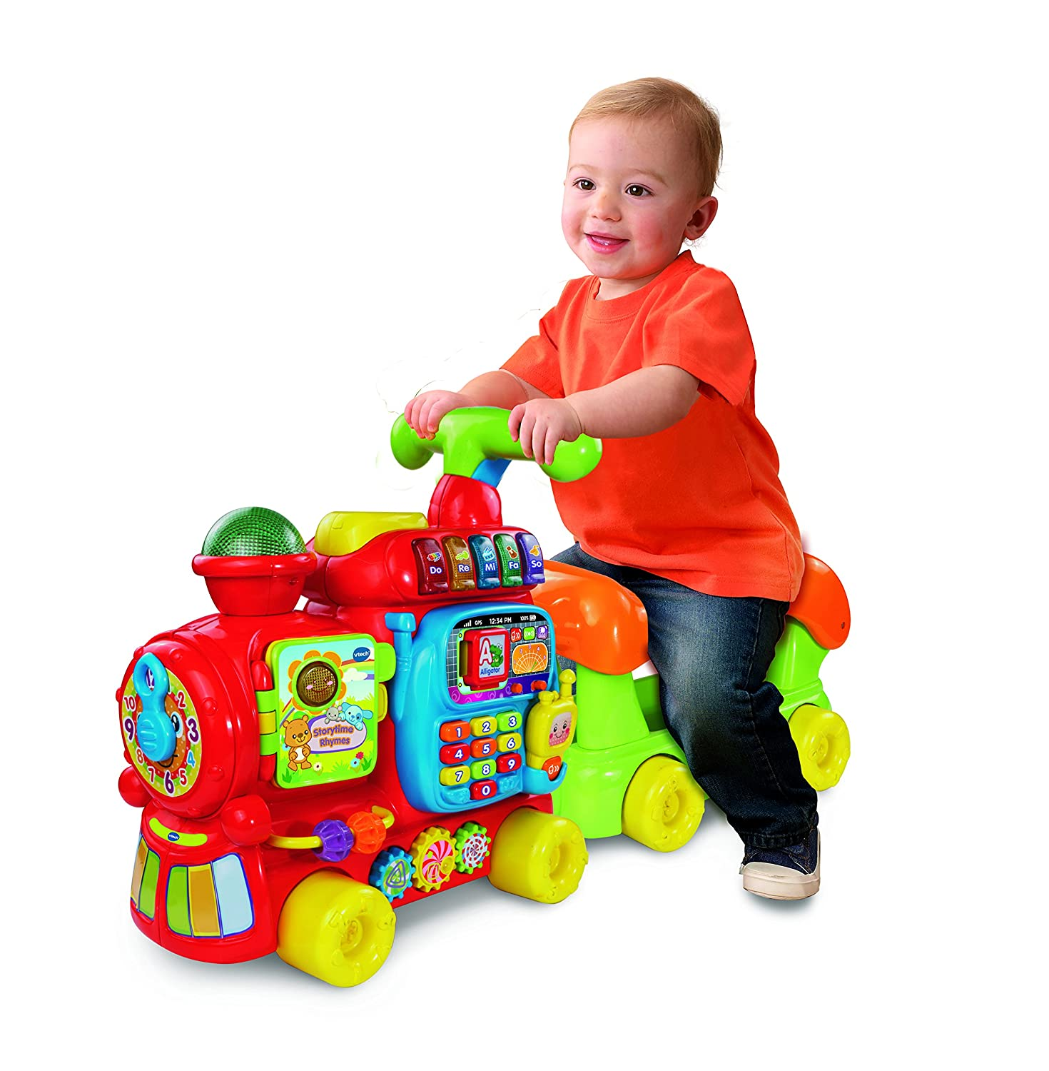 VTech Baby Push and Ride Alphabet Train Amazon Toys & Games