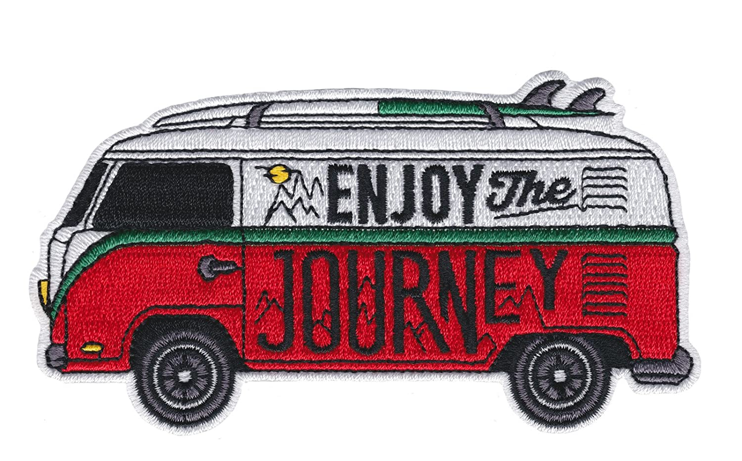 Asilda Store Enjoy The Journey Iron-on Embroidered Patch 4337017950