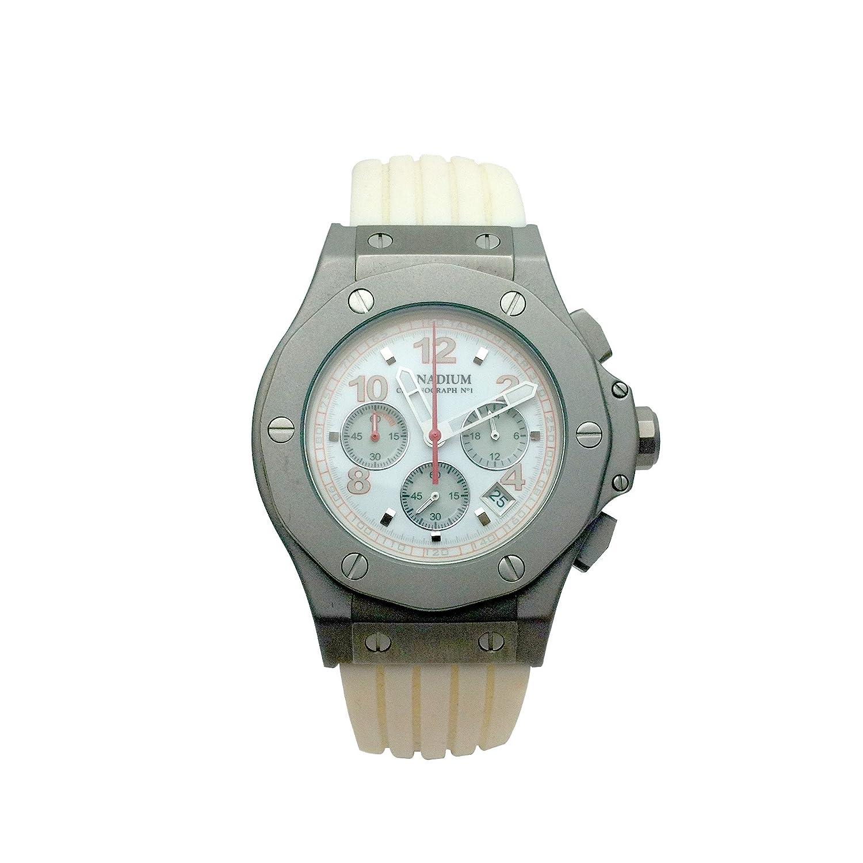 Uhr Vanadium weiß