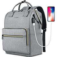 Laptop Backpack for Women Men, Travel Backpack Purse for 15.6 Inch Laptop with RFID Pocket USB Charging Port, College…