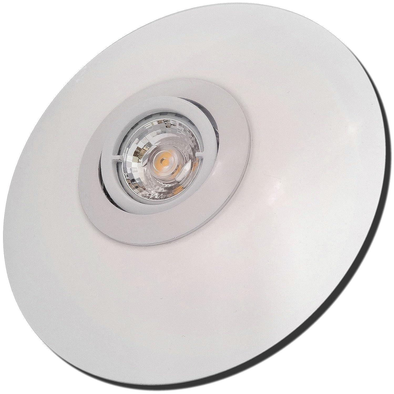 5 Stück MCOB Modul Einbaustrahler Big Laura 230 Volt 5 Watt Schwenkbar Weiß Neutralweiß
