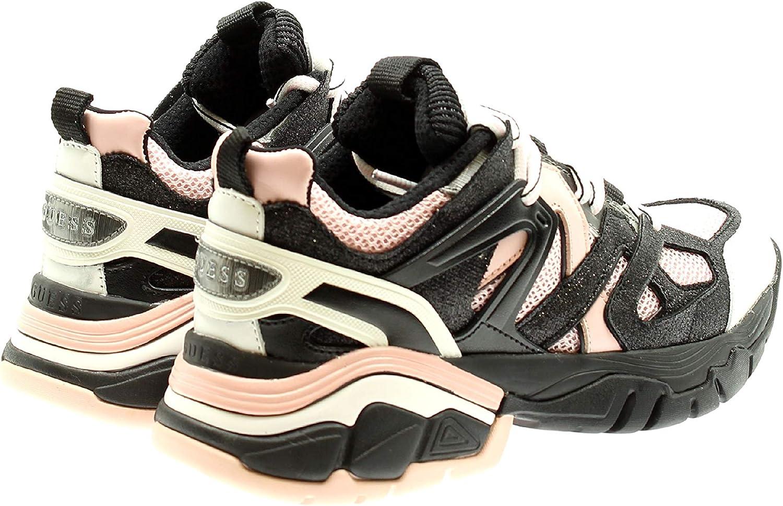 Guess FL8MAS FAB12 Zapatos Mujeres White Silve