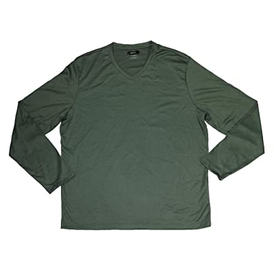 Alfani Mens Jersey Long Sleeves T-Shirt | Amazon.com