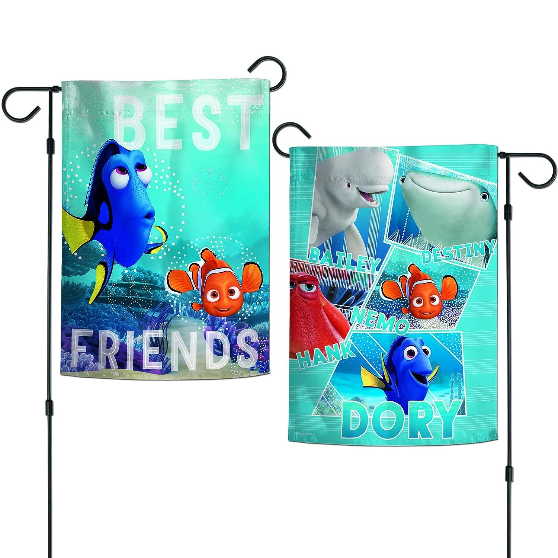 WinCraft Disney 2 Sided 12.5 x 18 Garden Flags