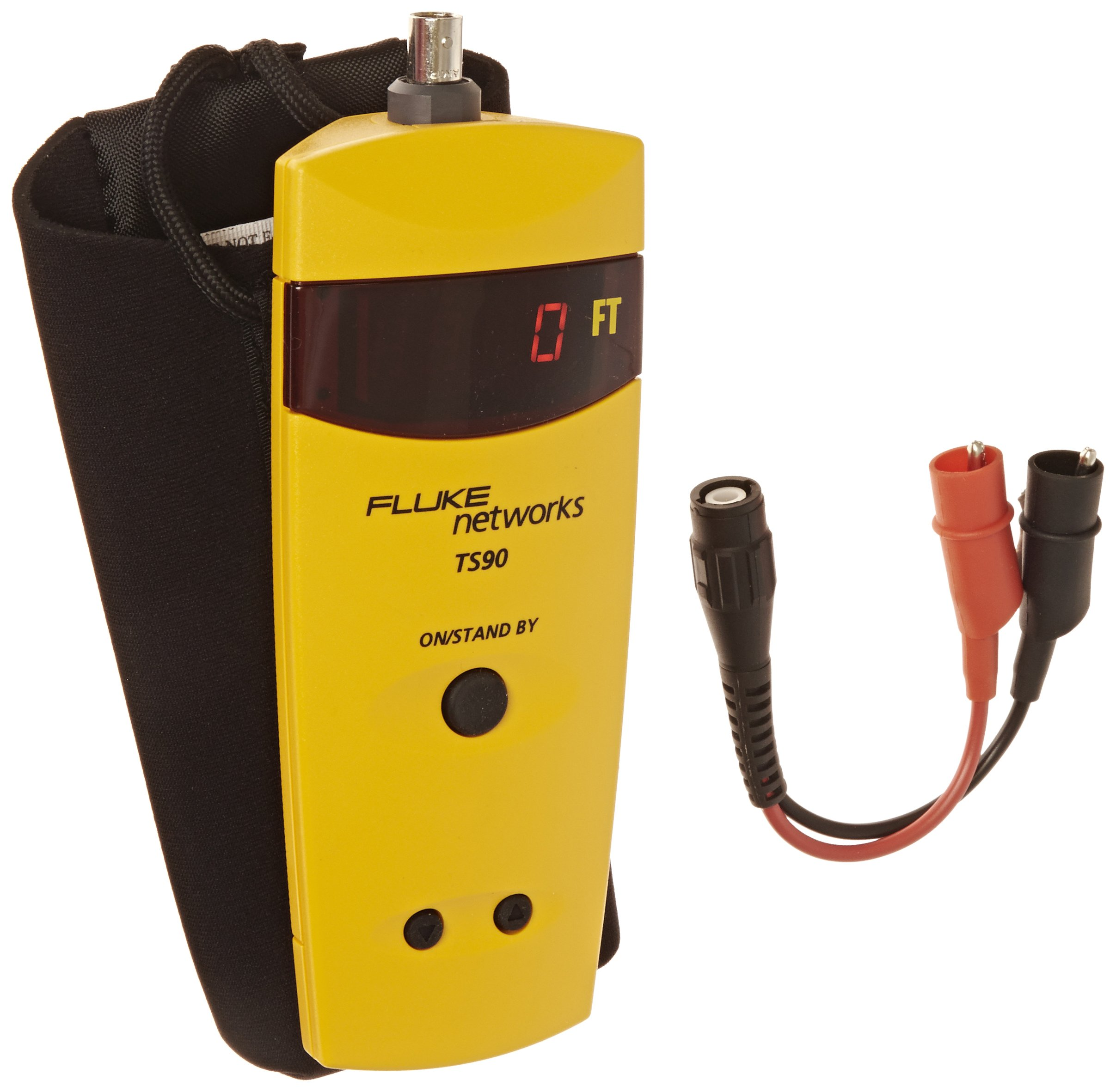Fluke Networks 26500090 TS90 Cable Fault Finder with BNC to Alligator Clips by Fluke Networks (Image #1)