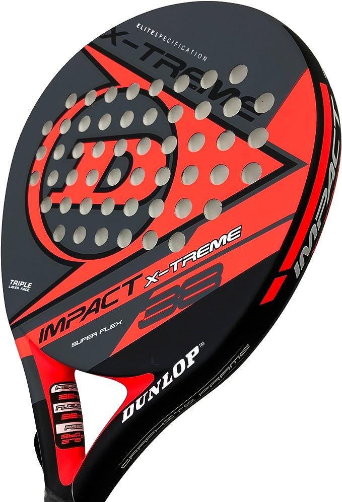 Dunlop Pala de pádel Impact X-Treme Red: Amazon.es: Deportes y ...