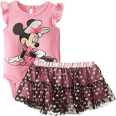 Disney Baby-Girls Minnie 2pcs Skirt Set Skirt Sets