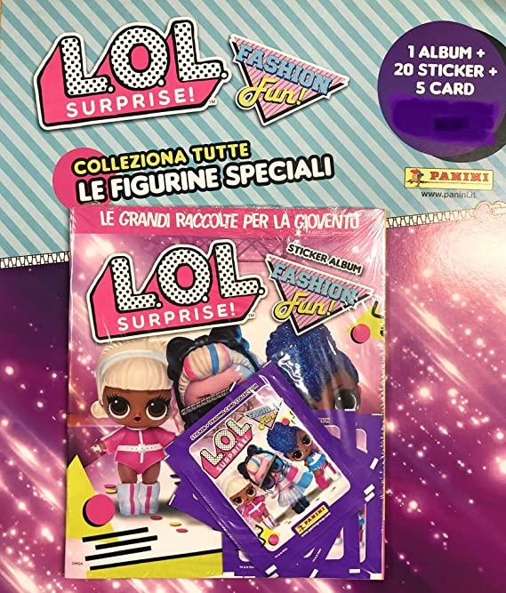 Panini 2019 Figurina-Sticker n 8 -New LOL SURPRISE let/'s be friends