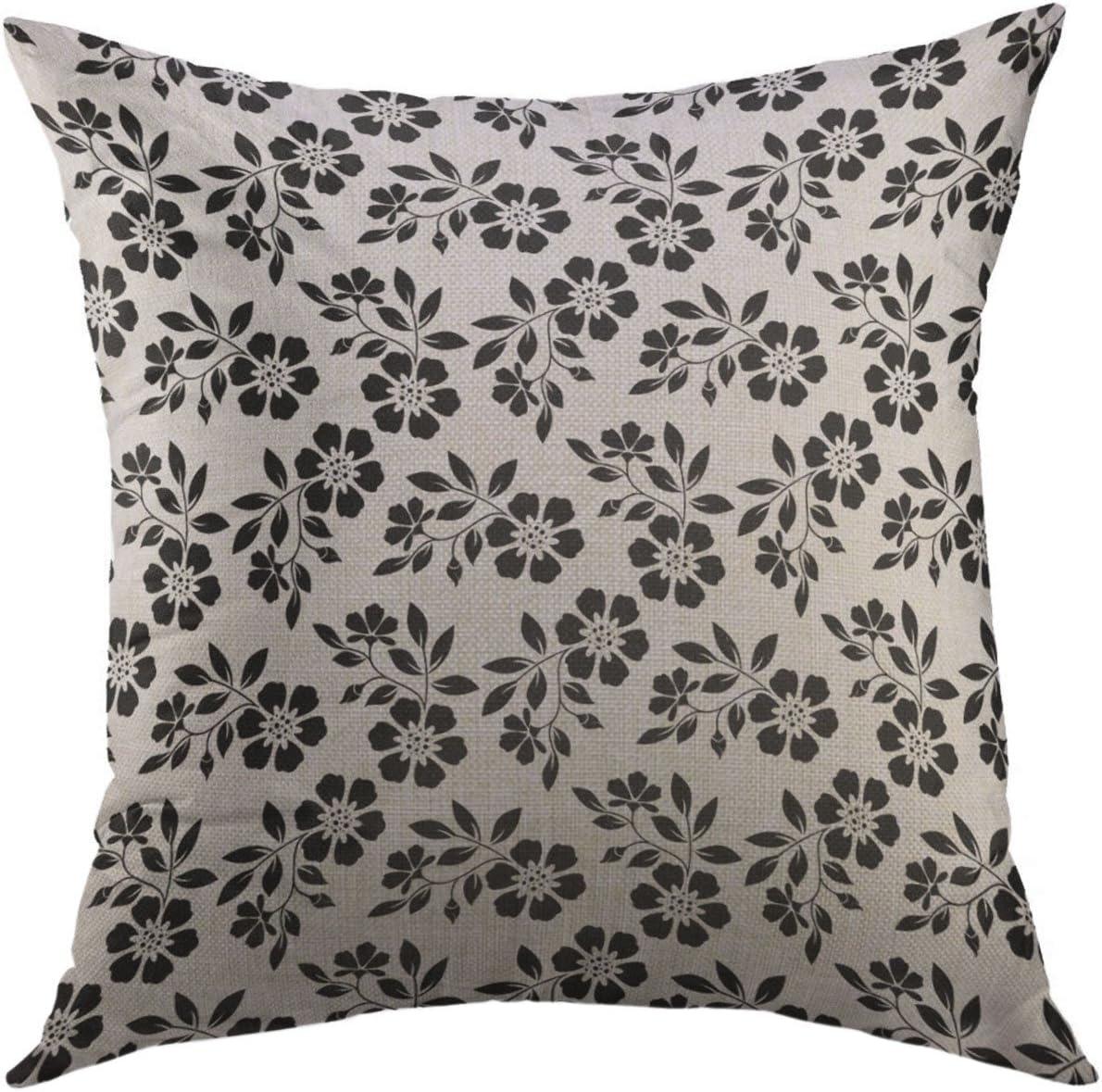 Mugod Pillow Cover Black Graphic