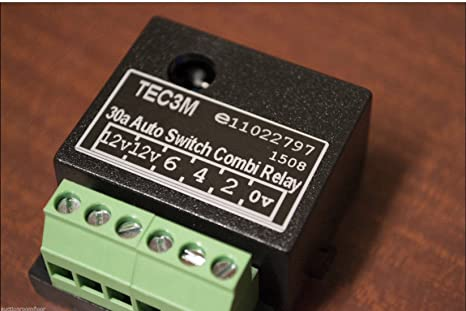 Tec3m 12s smart charging relay 30a caravan electrics amazon tec3m 12s smart charging relay 30a caravan electrics amazon car motorbike asfbconference2016 Image collections