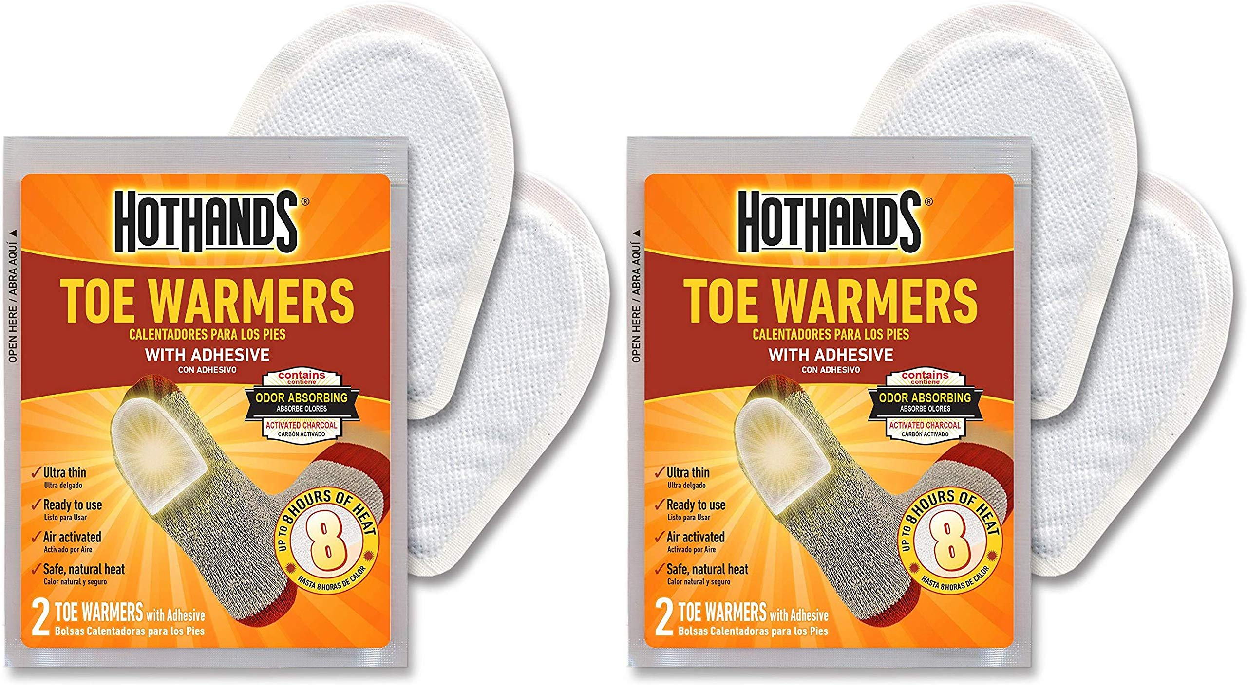 HotHands Toe Warmers 20 Pair Pack of 2 by HotHands