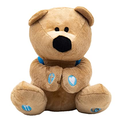 Amazon.com: Oración oso de peluche Animal de peluche con ...