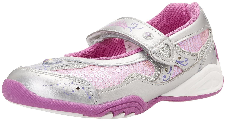 Amazon.com | Stride Rite Disney Wish Light-up Rapunzel MJ Sneaker (Toddler/ Little Kid), Silver/Pink/Purple, 2.5 M US Little Kid | Sneakers