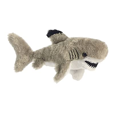 "Aurora - Mini Flopsie - 8"" Black Tipped Shark: Toys & Games"