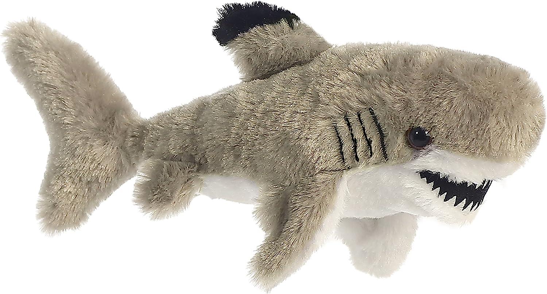 "Aurora - Mini Flopsie - 8"" Black Tipped Shark"