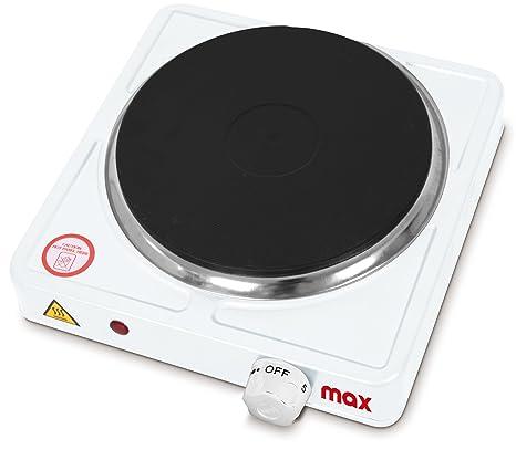 Max Casa I01020 Fornello Singolo Max Piastra Elettrica, 1000 W, 0 ...