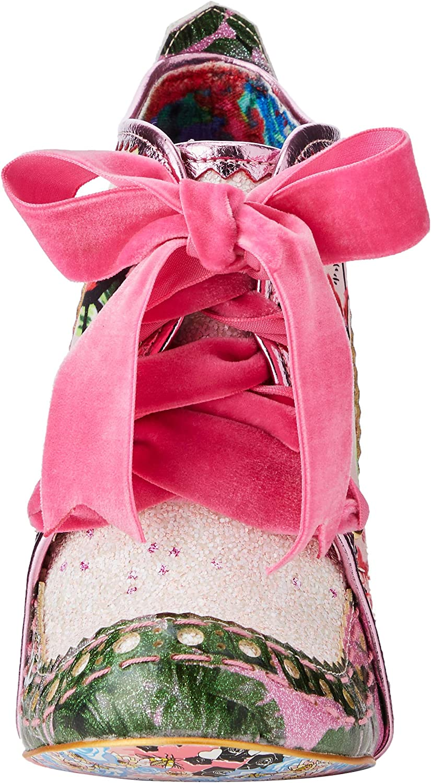 Irregular Choice Abigail\'s Third Party, Bottines Femme Rose Pink Green Cj