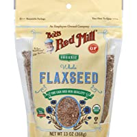 Bob's Red Mill Organic Flaxseed Brown, 368 gm