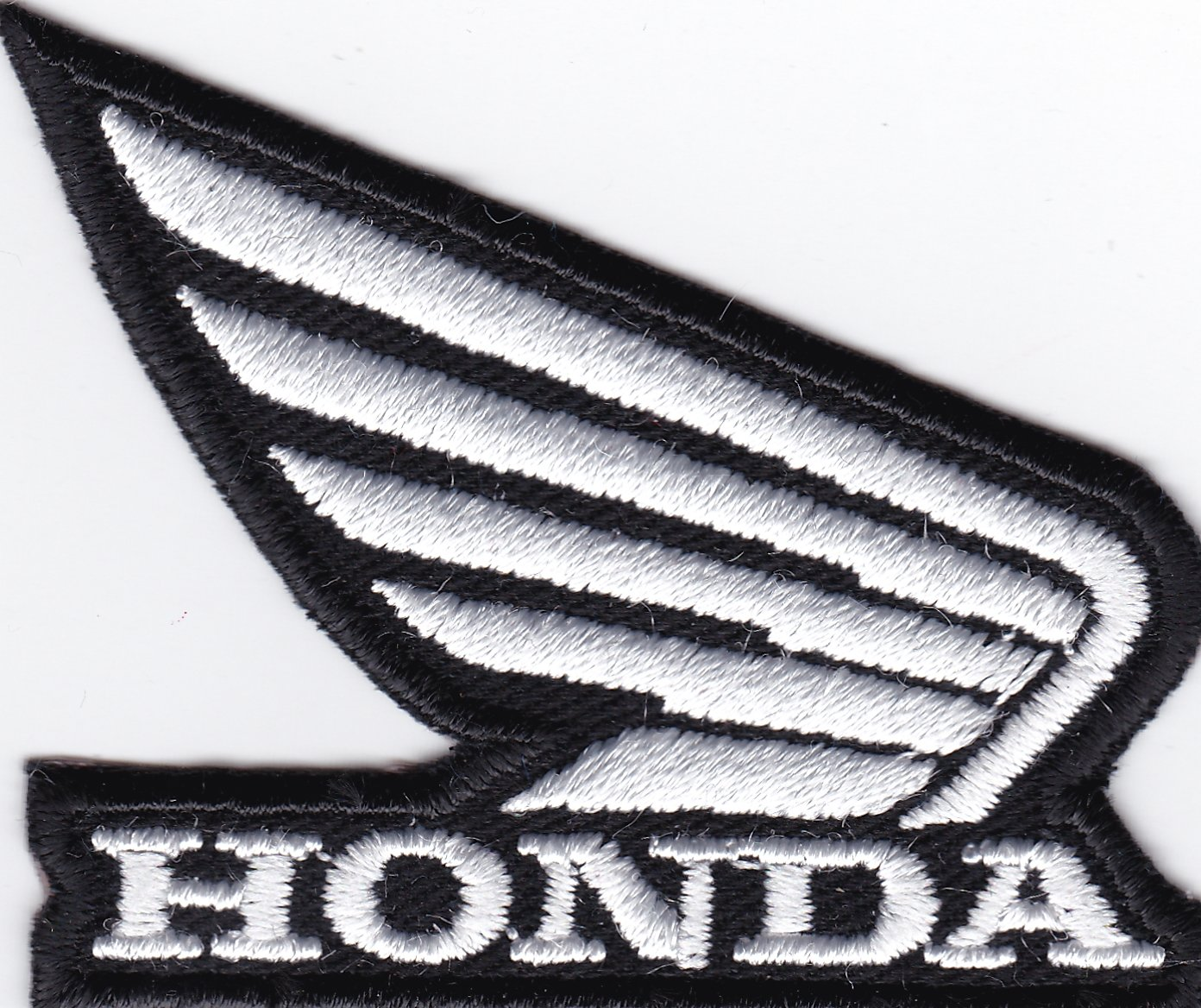 logo 6/x 5/cm patch broderie r/éplique -1119/B courses Patch Honda Moto ailes