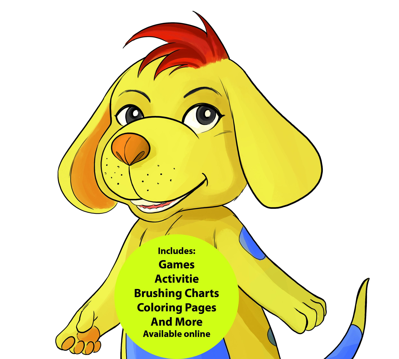 Oral Health Presentation Puppet Ollie Mutt Educational Plush