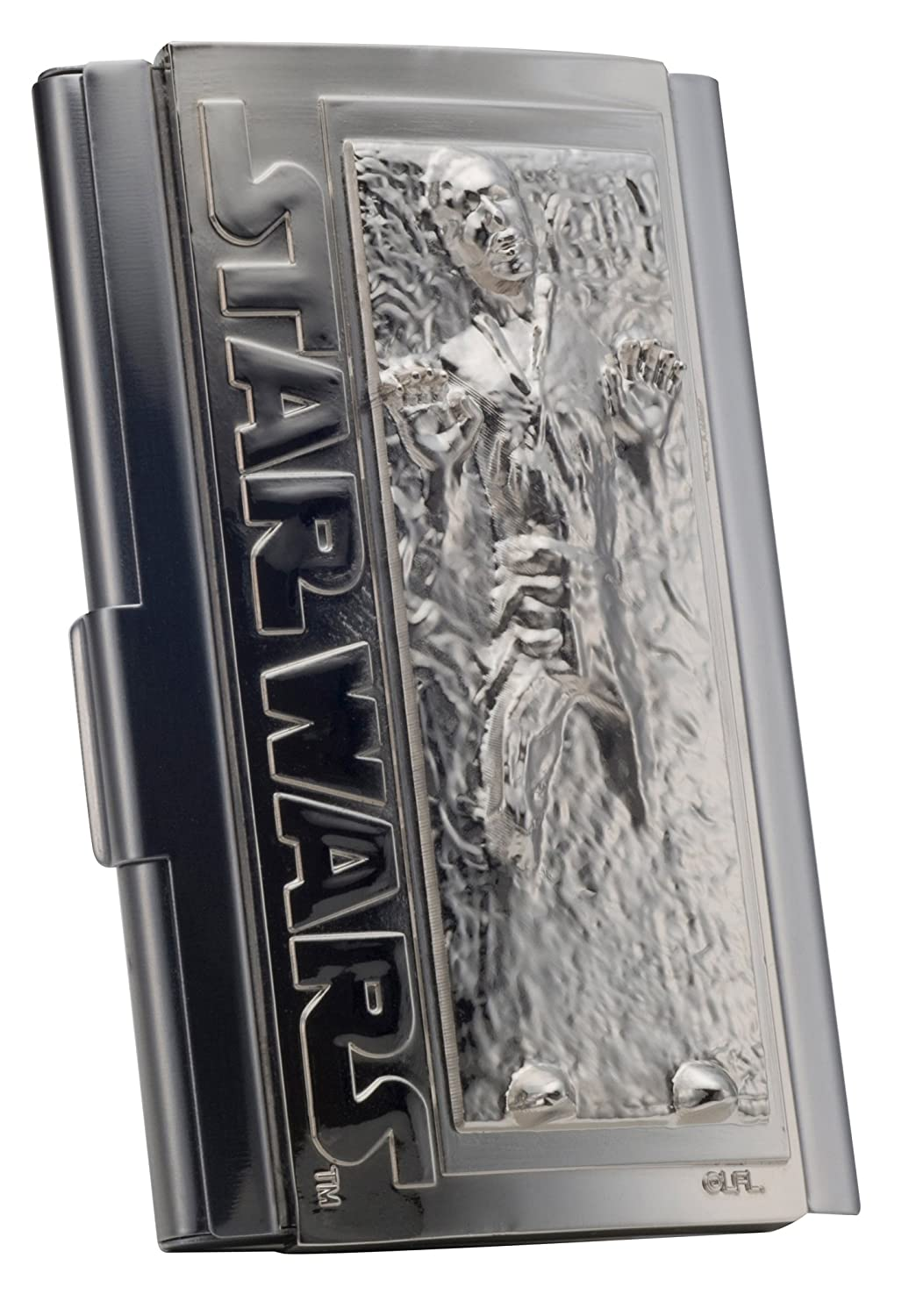 Amazon.com: Kotobukiya Star Wars Han Solo in Carbonite Business Card ...