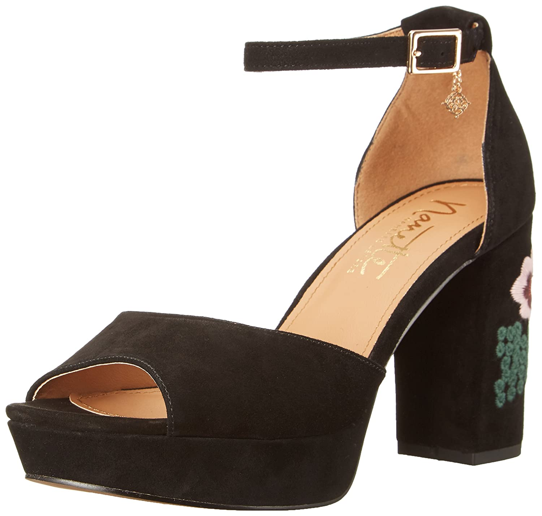 Nanette Nanette Lepore Women's Viola-N Platform Dress Sandal B01FFQILC2 10 B(M) US|Black