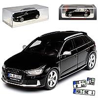alles-meine.de GmbH Audi A3 8V RS3 Sportback 5 Türer Schwarz Modell Ab 2012 1/43 Spark Modell Auto