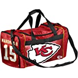 Kansas City Chiefs High End Diagonal Drawstring Backpack Gym Bag FOCO Patrick Mahomes #15