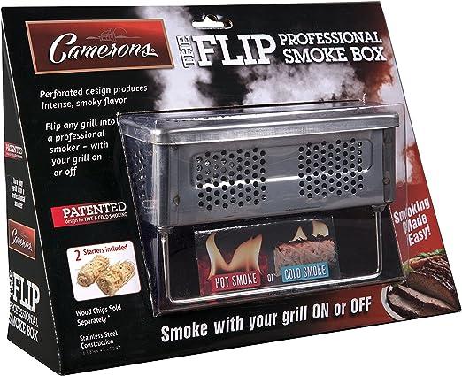 Camerons Products Fumador de Barbacoa a Humo frío y Caliente de ...