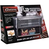 """BBQ Smoker Box for Hot & Cold Smoke - """"The Flip"""" Patented Barbecue Smoke Box w Fire Starters - Infuse Smoke Flavor with…"""