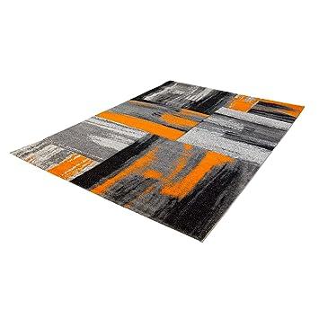carpet city Teppich Modern Designer Wohnzimmer Shake Farbverlauf ...