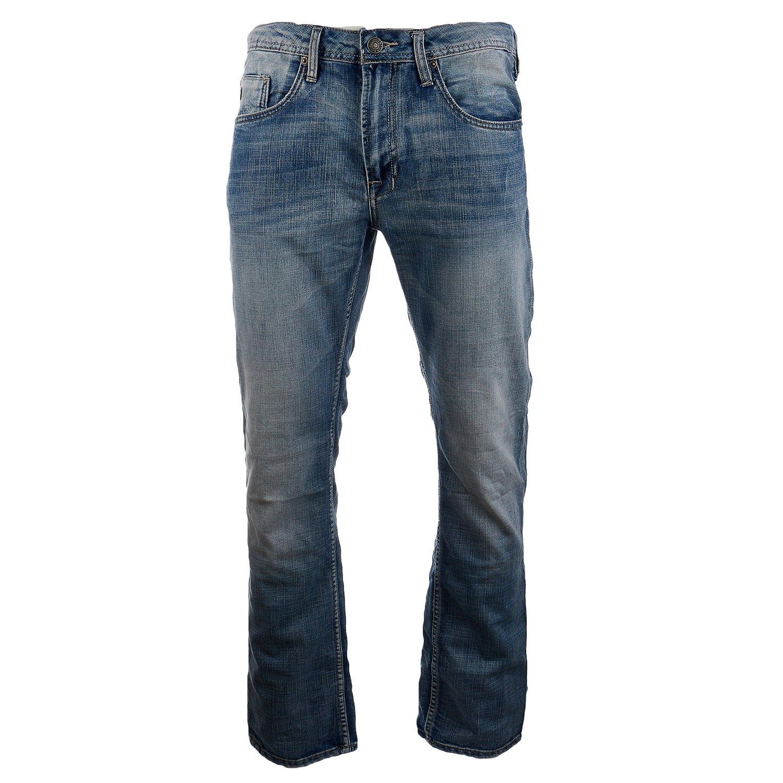 Buffalo Evan Slim Straight Jean - Mens