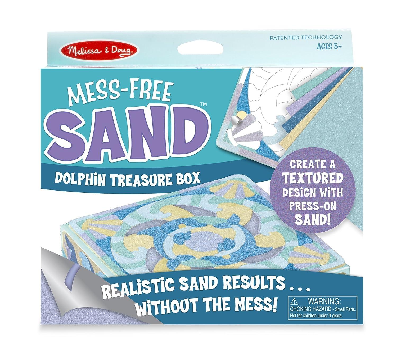 Melissa /& Doug Mess Free Sand Dolphin Box MELRT 30045