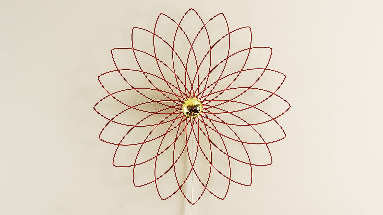 Blume Holz Ornament Wandleuchte Schattenbild Schatten Deckenleuchte