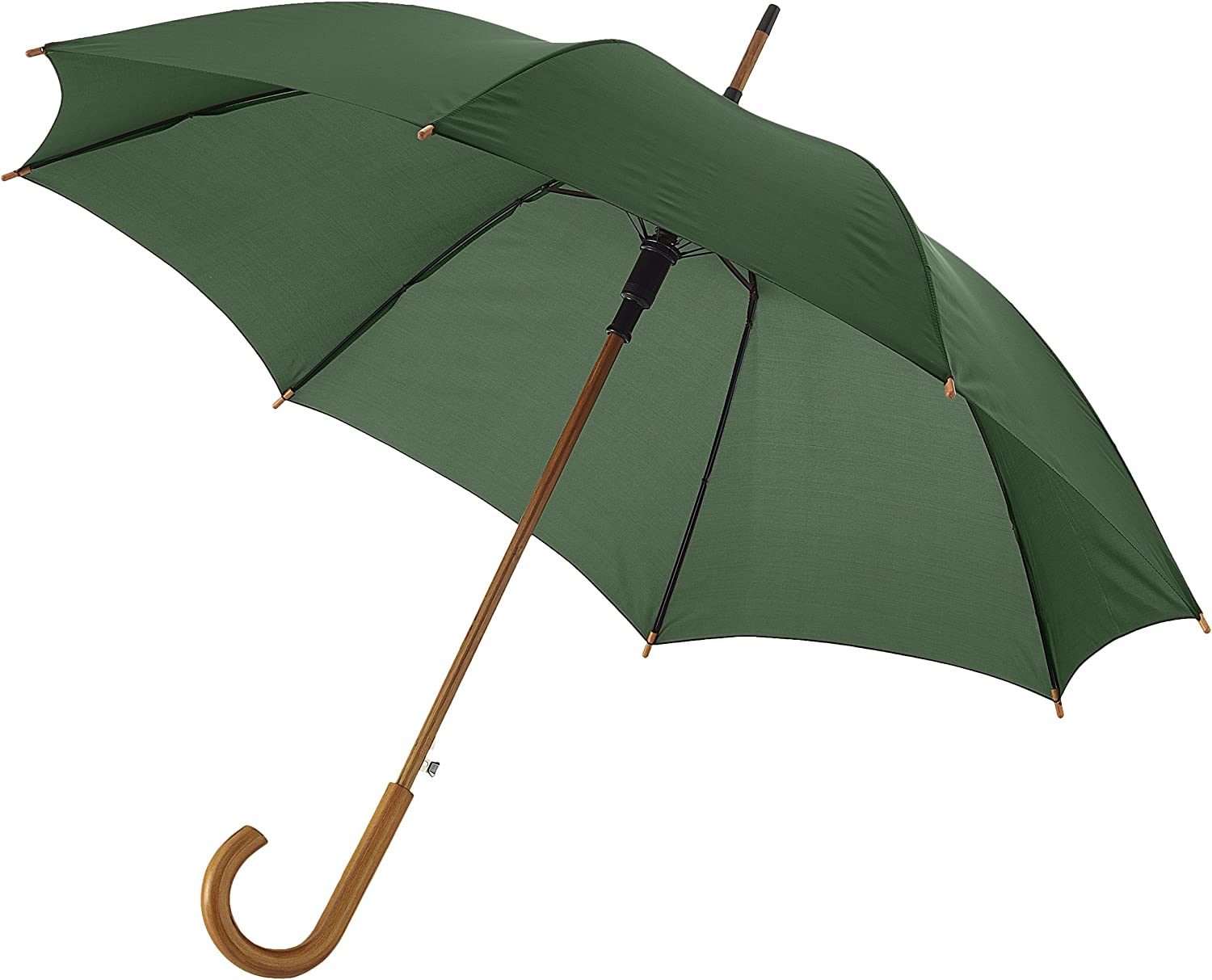 One Size Bullet 23in Kyle Automatic Classic Umbrella Forest Green