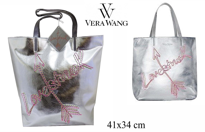 """Shopper Silber VERA WANG /""""Love Struck/"""" Handtasche"""