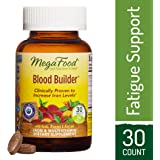 MegaFood - Blood Builder, Energy Boosting Iron Supplement, 30 Tablets (FFP)