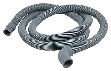 Eurosell Tubo de desagüe 22 mm acodado - 19 mm recta 0.5 Bar 60 °C ...