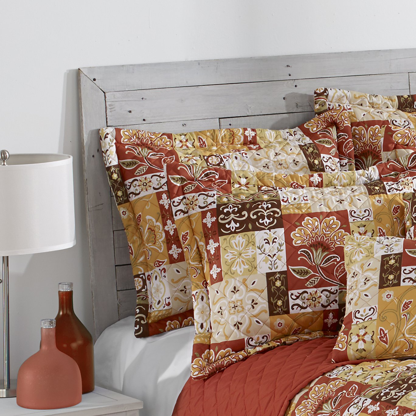 Harvest Stylemaster Home Products Kendall Printed Sham Standard