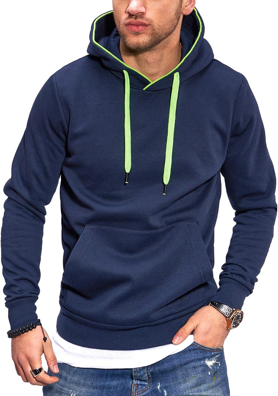 JACK /& JONES Felpa con Cappuccio Hoodie Pullover Casual Streetwear
