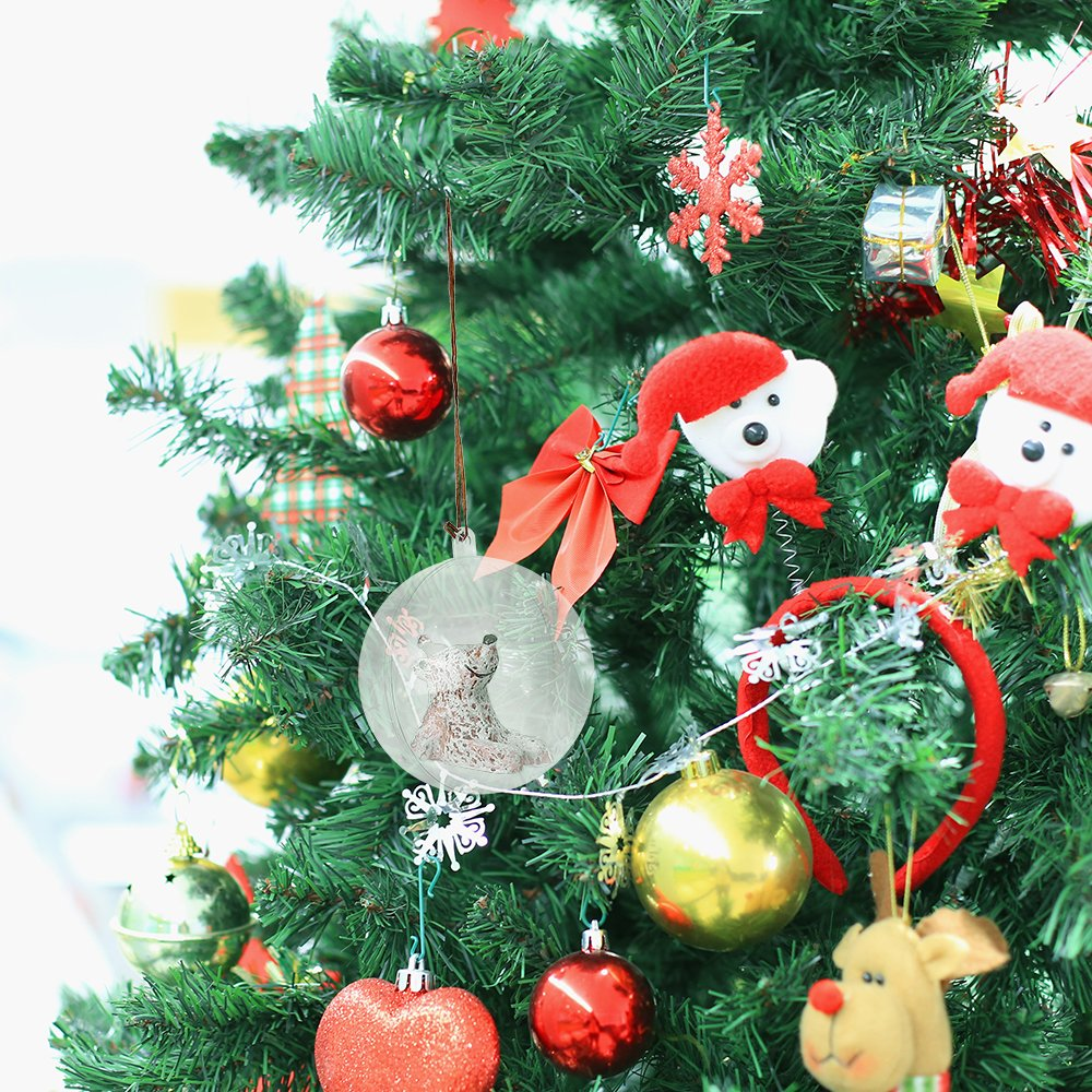 20 bolas transparentes para adornos para /árbol de Navidad manualidades 5 bolas rellenables bolas transparente ZOGIN