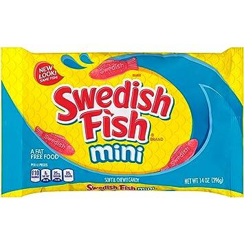 Swedish Fish Mini Soft Chewy Candy Original